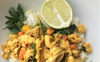 Golden Chicken Curry
